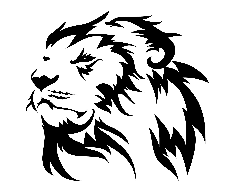 Lion Head Face | Etsy