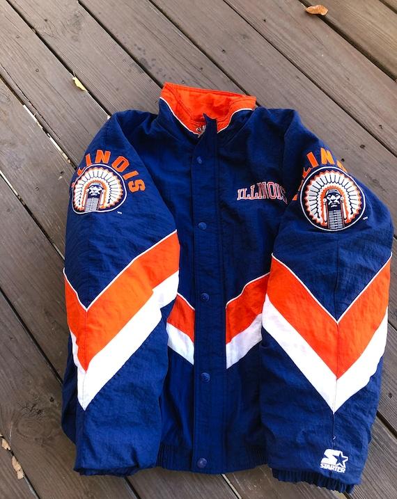 Vintage Illini Starter Jacket