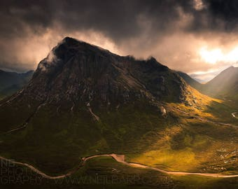 "A2 Print - ""Highland Summer II"" - Fine art landscape photography print"