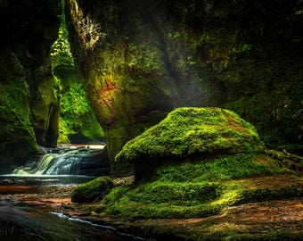 "A3 Print - ""Devil's Pulpit"" - Fine art landscape photography print - As seen in Outlander"