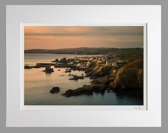 Unframed Scottish Fine Art Photo Print by Neil Barr A4 Portknockie Harbour /& Bow Fiddle Rock 40x30cm A4 Scotland Moray