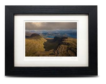 50x40cm A3 A3 The Bealach na B\u00e0 road to Applecross Unframed Scottish Fine Art Photo Print by Neil Barr of NB Photography Scotland