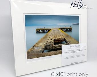 7 x 5 Scotland Unframed Scottish Fine Art Photo Print by Neil Barr of NB Photography A6 A6 Portencross Pier North Ayrshire