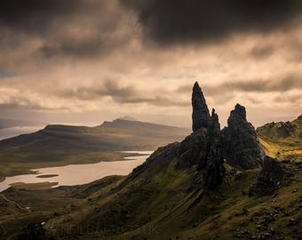 "A4 Print - ""The Old Man of Storr"" - Fine art landscape photography print"