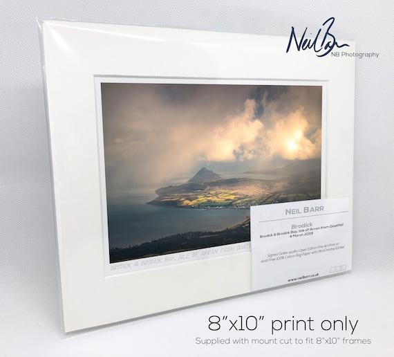 Isle of Arran Scotland Brodick /& Holy Island Ayrshire Scottish Fine Art Photo Print on 100/% Cotton Rag Paper by Neil Barr of NB Photography