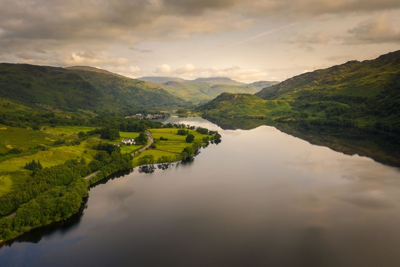 Unframed Scottish Fine Art Photo Print by Neil Barr of NB Photography A4 A4 Ardlui /& Cnap M\u00f2r Loch Lomond 40x30cm Scotland