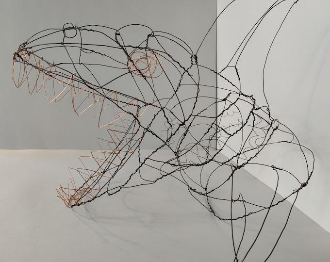 Shark sculpture, wall art, metal shark wall art, kids wall art, 3-D wall art, animal wall art, animal sculpture