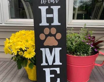 Welcome to our Home (Paw Print)