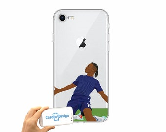 ff25f976846 Didier Drogba Chelsea Football club mobile phone case for iPhone 5 5c 6 7 8  X or Samsung Galaxy J3 2017 J5 2017 S7 S8 S9