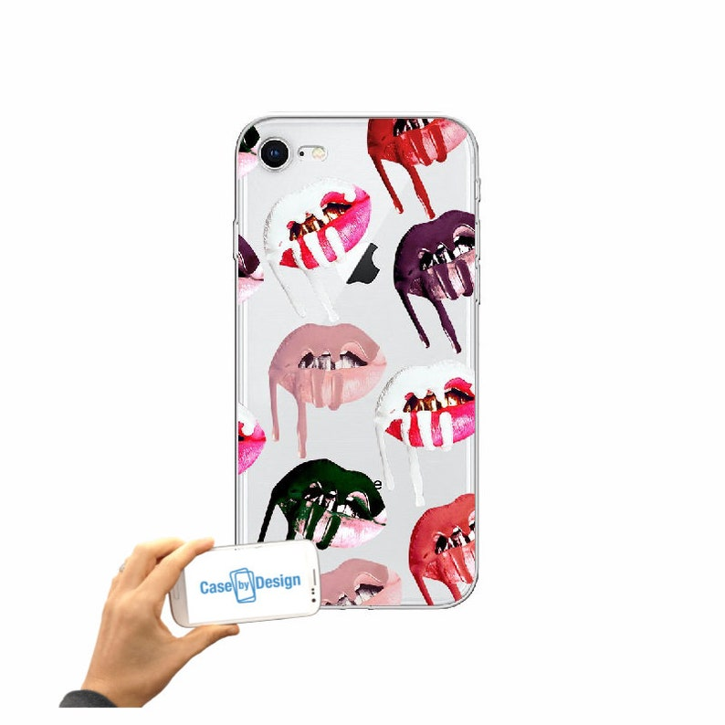 newest bf3ef 2a963 Kylie Jenner Lips mobile phone case for iPhone 5 5c 6 7 8 X or Samsung  Galaxy J3 2017 J5 2017 S7 S8 S9