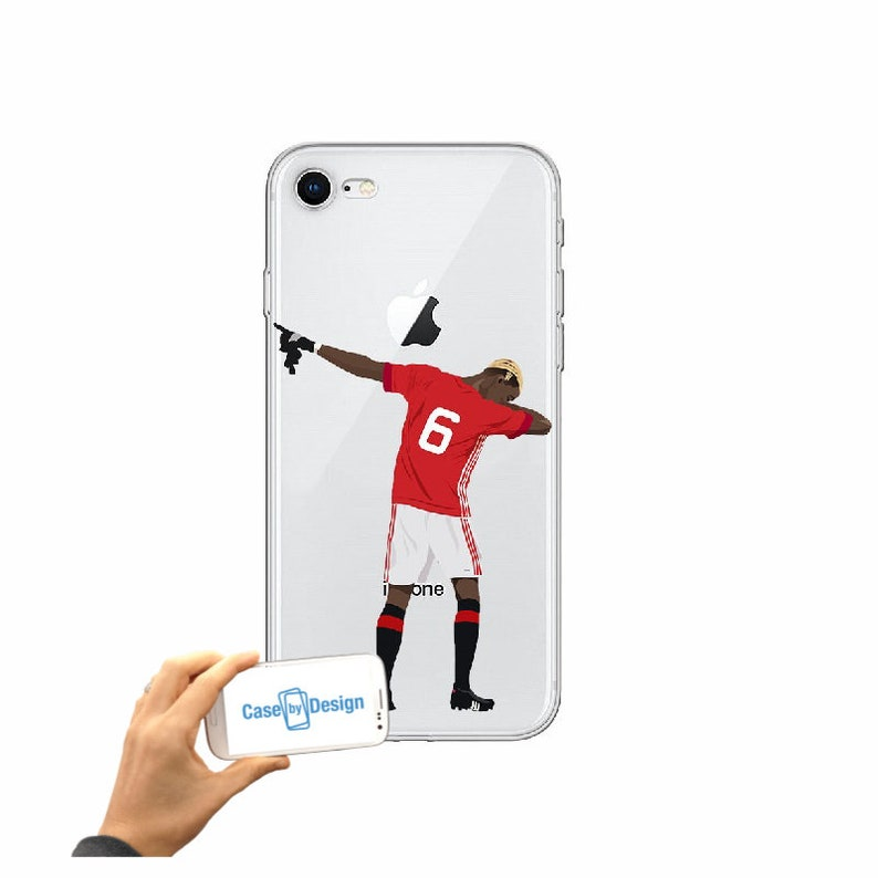 Paul Pogba Dab Manchester United Football club mobile phone case for iPhone  5 5c 6 7 8 X or Samsung Galaxy J3 2017 J5 2017 S7 S8 S9