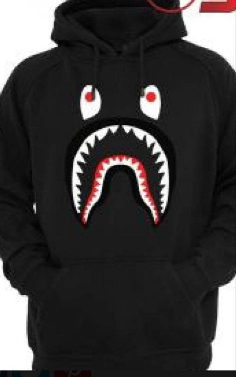 e11481aa2088 Bape Shark Hoodies Bape Shark shirts Bape Shark Hoodie