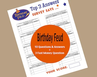 graphic about Bible Family Feud Questions and Answers Printable known as Family members feud match Etsy