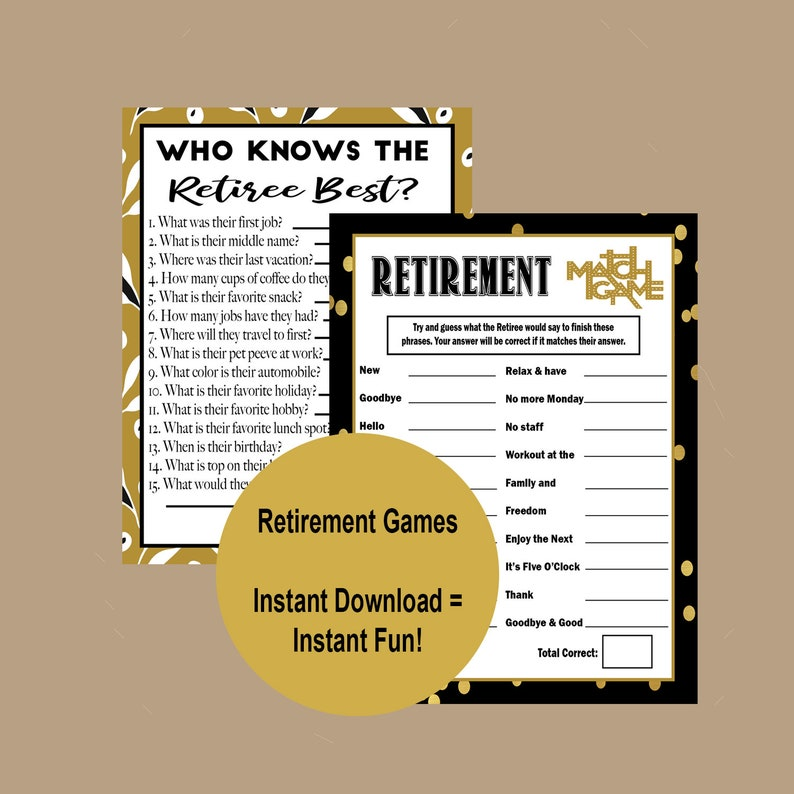picture about Retirement Party Games Free Printable named Retirement Bash Game titles, Who Is aware of the Retiree Suitable, 2019 Retirement Celebration, Co-Personnel Retirement Game titles, Retirement Plans, Quick Obtain