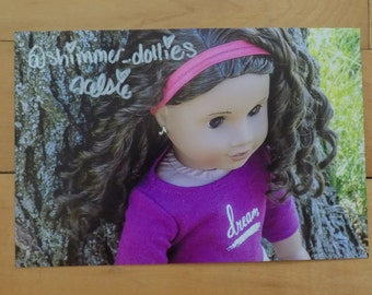 Shimmer Dollies Signed Photo | Gabrielle