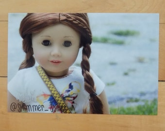 Shimmer Dollies Signed Photo   Amber