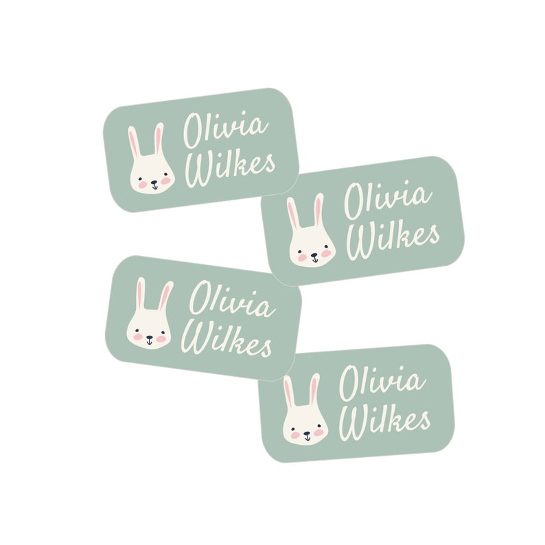 Girl Icons Cursive Font Extra Small Label Pack