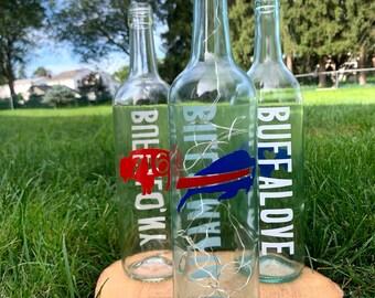 Buffalo Decorative Wine Bottle