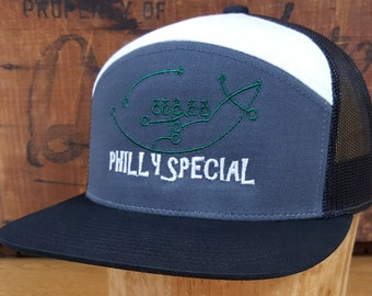 038d8e15a802cf ... canada philadelphia eagles philly special play 7 panel embroidered  trucker hat snapback cap 5ec62 98b79
