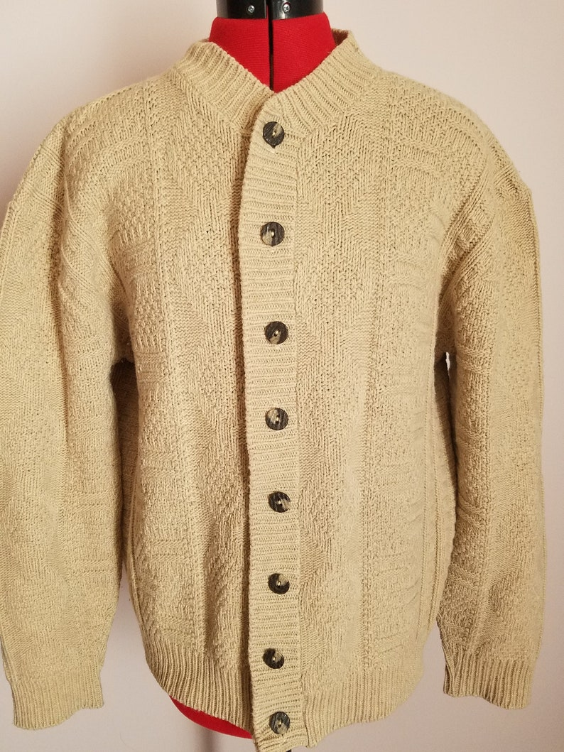 Vintage 1940s 50s Rugby Knitting Mills Men S Lamb S Etsy