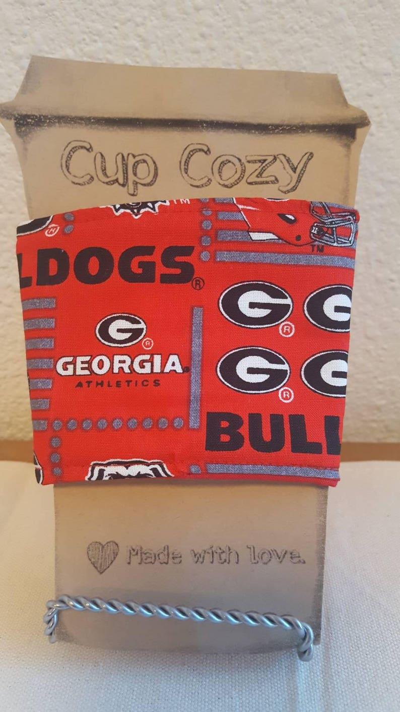 Univeristy of Georgia Bulldogs Coffee Tea Cup Cozies image 0