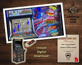 Create your own CoinOpsX USB Drive for the Legends Ultimate Arcade | Unofficial How-To Field Guide