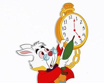 Alice in Wonderland - White Rabbit - Party Decor - Party Prop - Cut out - Wonderland Birthday