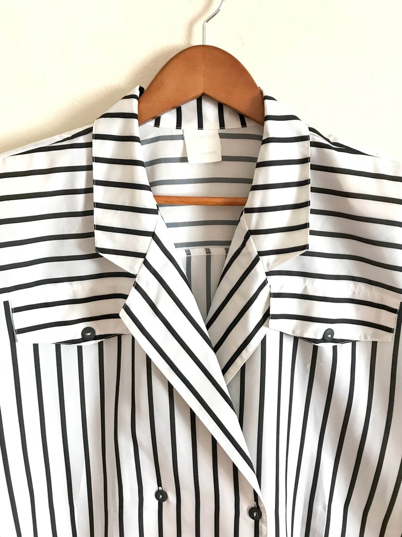 vintage French top from the 80s