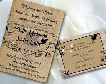 WeddingInvitationTemplatePrint Your | Etsy