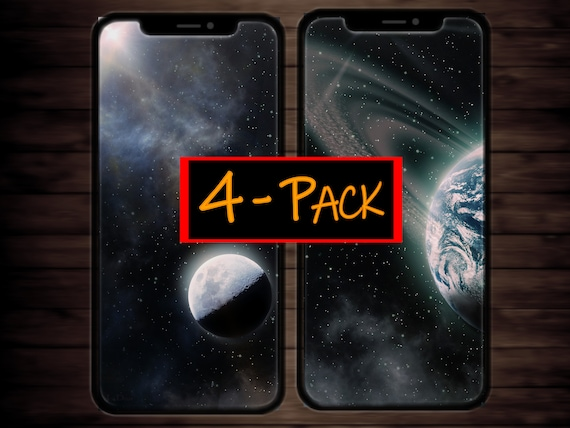 Iphone X Wallpaper Or Lockscreen Outer Space Theme Moon Earth Sun Rays Galaxy Dust Digital Background Iphone X Iphone Xs Max