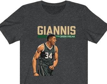 8d59063a9a8 Giannis 'The Greek Freak' T-Shirt
