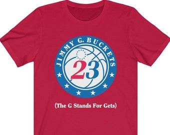 52335bf45 Jimmy Butler Sixers Style Jimmy G. Buckets T-Shirt for Philly 76ers Fans