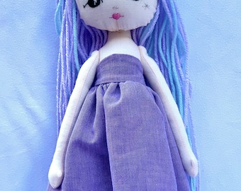 Hand Embroidered Sparkle Starlet Doll