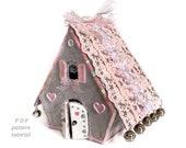 Putz house pattern Christmas village Fairy house montessori toddler activities