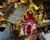 Christmas village Noel decoration Christmas eve box Putz house