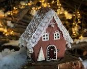 Christmas village Putz house Noel decoration Gingerbread House