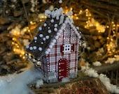 Christmas putz house Noel decoration Christmas eve box