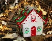 Christmas village Gingerbread House Winter wonderland decorations