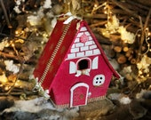 Gingerbread house Christmas eve box Winter onederland decorations