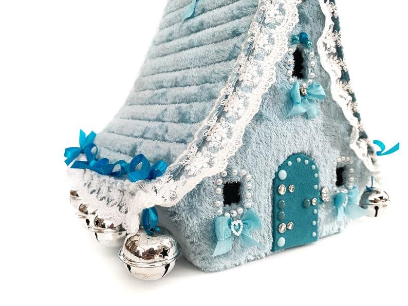 Christmas putz house Noel decoration Christmas eve box Play house