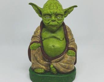 Jedi Master Yoda Buddha