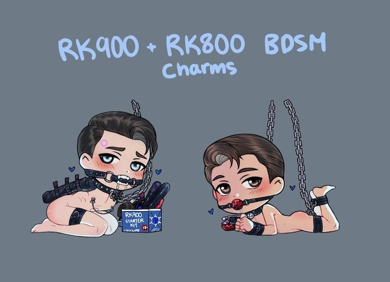 RK900 RK800 BDSM Sub Charms