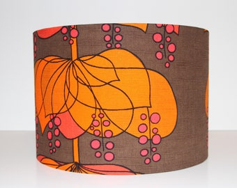 Vintage fabric shade RIO by Helene Wedel