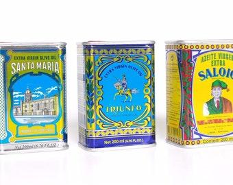 3x Authentic Olive Oil from Portugal - Saloio - Triunfo - Santa Maria - 3 x 200ml
