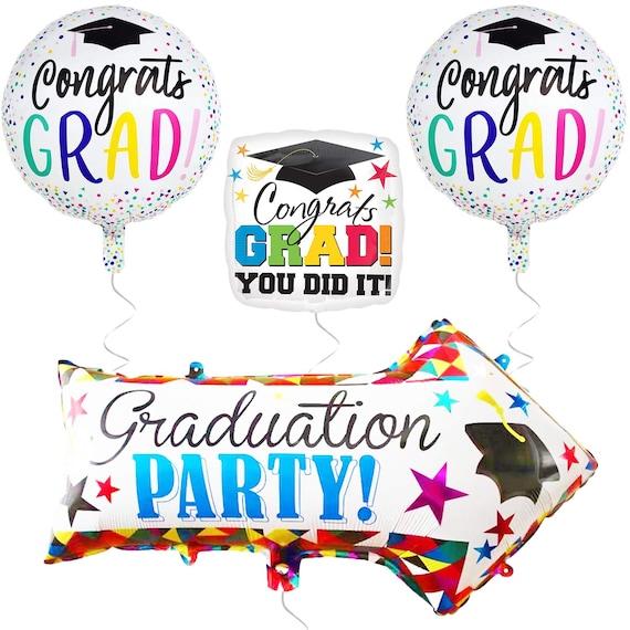 Graduation Party Bunting Banner Pink Party Decorations Congrats Grad 2019 Dream Big