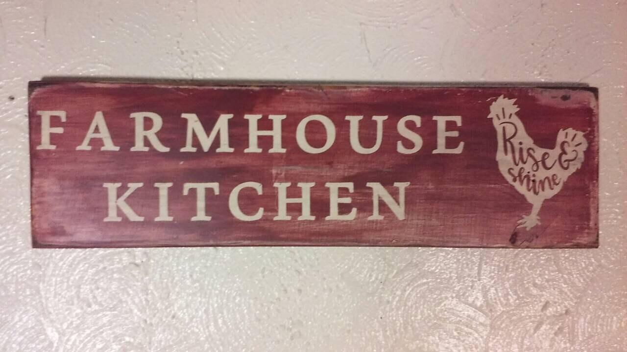 Charming Signs / Kitchen Signs / Farmhouse Decor / Wood Signs / Farmhouse Signs / Kitchen  Signs / Kitchen Wall Decor / Wooden Sign/ Wood Kitchen Sign