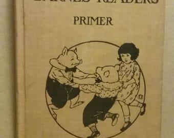 Reader Primer Barnes 1916