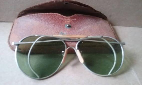 Aviator Vintage Sunglasses Calobar 1940s