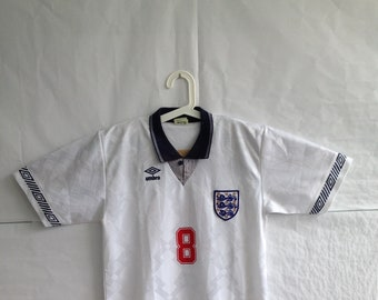 569036b7866 Vtg England football jersey made in japan size ll