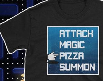 1eb69cb10 Gaming RPG Shirt Video Game ROL Tshirt Gamer Nerd Final Fantasy Style Shirt  Gamers Like Pizza Tshirt Nerdy Girl Shirt RPG Video Games Shirt
